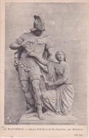 CPA Paris - Panthéon - Statues D'Attila Et De Ste-Geneviève; Par Maindron (4597) - Pantheon