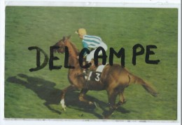 CPA  - Postillon Vous Offre Le Calendrier Des Courses Pour Juin 1967 - Freddy HEAD Sur BON MOT - Calendriers