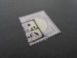 D.R.Mi 16 - 1/4Gr - Reichspost - 1872  Mi 130 € - Oblitérés