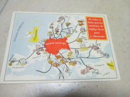 Postcard Carte Postale Propaganda Guerre WWII - Documents