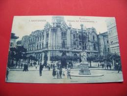 Spanien - Santander  /   Rathaus   Gelaufen  1926    /     ( T - 12 ) - Cantabria (Santander)