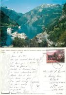 Geiranger, Norway Postcard Posted 2004 Stamp - Norvegia
