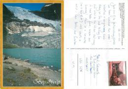 Boyabreen, Norway Postcard Posted 2004 Stamp - Norvegia