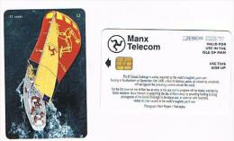 ISLE OF MAN - MANX TELECOM (CHIP) -  THE BT GLOBAL CHALANGE - CODE IOM44  - USED - RIF. 7783 - Isola Di Man