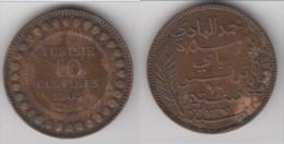 ****  TUNISIE - TUNISIA - 10 CENTIMES 1903 A  BRONZE **** EN ACHAT IMMEDIAT !!! - Tunisie