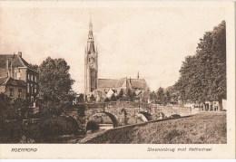 Roermond  Steenenbrug Met Kathedraal - Roermond