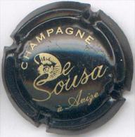 CAPSULE-CHAMPAGNE DE-SOUZA N°19 Noir & Or - Champagne