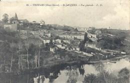 POITOU-CHARENTE - 79 - DEUX SEVRES - THOUARS - SAINT JACQUES - Vue Générale - Thouars