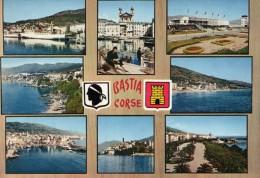 BASTIA CORSE....CARTE MULTIVUE - Iglesias Y Catedrales