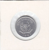 1 LIKUTA Alu 1967 - Congo (Rép. Démocratique, 1964-70)