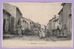 88 - PORTIEUX -- Rue Du Mont - France