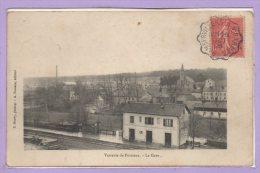 88 - PORTIEUX -- Verrerie - La Gare - France