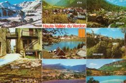 VALLEE DU VERDON...1983 CARTE MULTIVUE - Cartoline