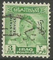 Iraq - 1948 King FaisaI II Official  3f  FU   SG O300  Sc O125 - Iraq