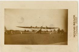 Real Photo Hydravion Miami Beach Florida 1938 Hydroplane - Miami Beach