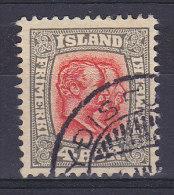 Iceland 1907 Mi. 50     4 A Könige Christian IX & Frederik VIII. - Oblitérés