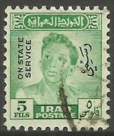 Iraq - 1949 King FaisaI II Official  5f  FU   SG O304  Sc O144 - Iraq