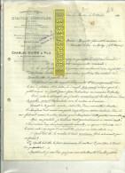 25 - Doubs - VILLEDIEU-LES-MOUTHE - Facture MAIRE - Fabrique D'outils Agricoles En Bois – 1920 - 1900 – 1949