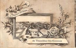 CPA - TREMBLAY LES GONESSE - Souvenir- Panorama Vu Du Sommet De La Distillerie - Tremblay En France