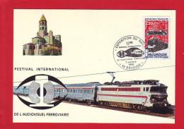 6453 - CARTE POSTALE TRAIN RAIL CHEMIN DE FER CHEMINOT LOCOMOTIVE CC 40103 - Unclassified