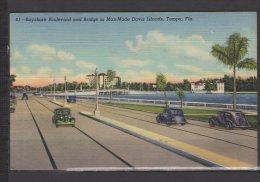 Bayshore Boulevard And Bridge To Man-Made Davis Islands , Tampa - Tampa