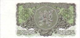 TCHECOSLOVAQUIE  5 Korun  Emission De 1953   Pick 80 B            ***** BILLET  NEUF ***** - Tchécoslovaquie