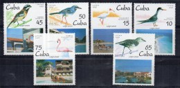 Serie Nº 3489/94 Cuba - Birds