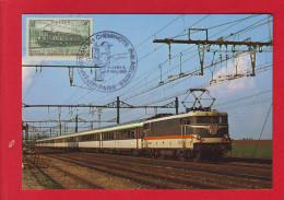 6478 - CARTE POSTALE TRAIN RAIL CHEMIN DE FER CHEMINOT LOCOMOTIVE CORAIL - Unclassified