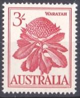 Australia 1959-1964 Flowers 3s Waratah MNH - - - 1952-65 Elizabeth II : Pre-Decimals
