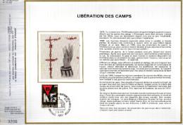 Feuillet Tirage Limité CEF 134 10 1768 Libération Des Camps Prisonniers De Guerre - Cartes-maximum (CM)