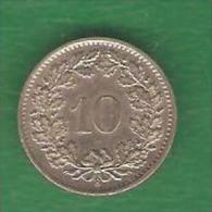10  RAPPEN  SUISSE 1969 B  (PRIX FIXE) (BK15) - Suisse