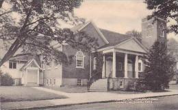 Massachusetts Needham Evangelical Congregational Church Collotyp