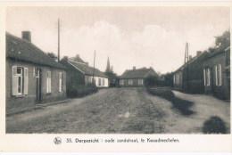 35 Dorpszicht Oude Zandstraat Te Kwaadmechelen   De Belgische Landschappen  De Kempen - Ham
