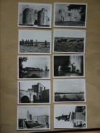 EDITION S E P T  AIGUES MORTES 10 PHOTOGRAPHIES 6X9cm - Lieux