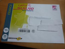 Lettre SUIVIE DOCUMENTS 100g (type FRANCE ROUGE - PRIORITAIRE) Non Oblitéré - France