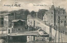 Allemagne    -      Parchim           (  Ville  De  Meklembourg  )           -  Trace  Blanche  - - Parchim
