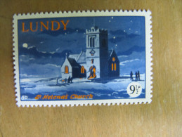 7-216 Ste Helenna Chrurche Eglise Sainte Helenne Lundy Noel Christmas île Lundy Atlantique Nord - Christmas