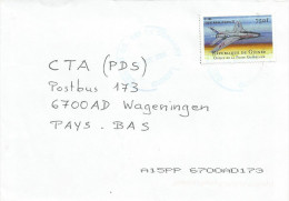 Guinee Guinea 2004 Conakry Super Sabre Jet Fighter Airplane Cover - Guinee (1958-...)