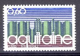 A VOIR !!!  N°1864 ** De 1976  SCAN CONTRACTUEL RECTO VERSO - France