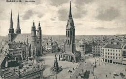 Allemagne    -        HALLE  A .  S ,    Marktplatz . - Parchim
