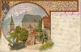 Allemagne    -          SCHLOSS   ROCHLITZ           (  Signé  A  Màder  )                   -  En  L ´ état  - - Parchim
