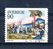SUEDE. N°901 De 1975 (oblitéré). Scoutisme. - Scoutisme