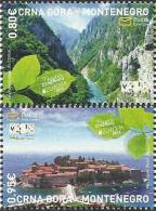 CG 2012-309-10 EUROPA CEPT, MONTENEGRO CRNA GORA, 1 X 2v, MNH - Montenegro