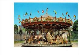 94 NOGENT SUR MARNE - Le Manège Du Pavillon Baltard - Carrousel Chevaux De Bois NEW-YORK LA RÉUNION MONTREAL BARCELONNE - Nogent Sur Marne