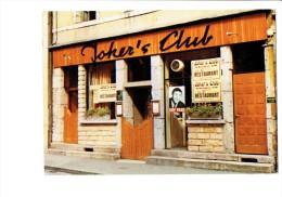 "21 - DIJON - Cabaret JOKER'S CLUB - Restaurant Affiche Chanteur GUY PEZE - RUE CONDORCET - SA CAVE 55 ""PIZZERIA"" - Dijon"