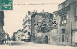 TOULOUSE - N° 105 - RUE DU LANGUEDOC - HOTEL DU VIEUX RAISIN - Toulouse