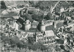 Fougères (ille Et Vilaine) Château Et église St Sulpice - Fougeres