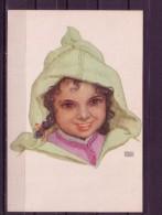 Künstler AK Erwin Hubert/ Tetuan : Kinderportait - Künstlerkarten