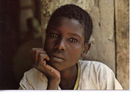 Afrique : Tchad Ecolier Kreda � Moussoro (Kanem) viasage du monde n�2