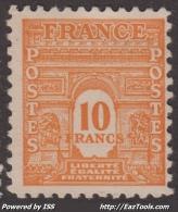 *PROMO* 10Fr Arc De Triomphe Neuf * TB (Y&T N° 629, Cote 21.50€) - Nuovi